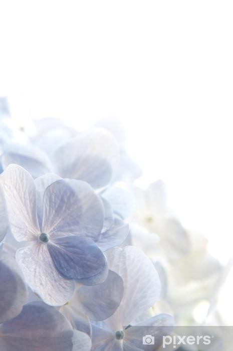 青紫の紫陽花 Pixerstick Sticker - Flowers