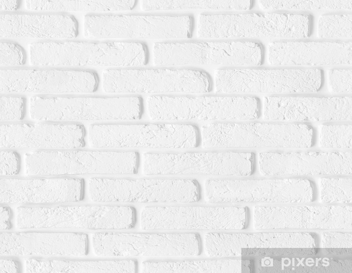 Seamless White Brick Wall Texture Wall Mural Pixers We Live To Change