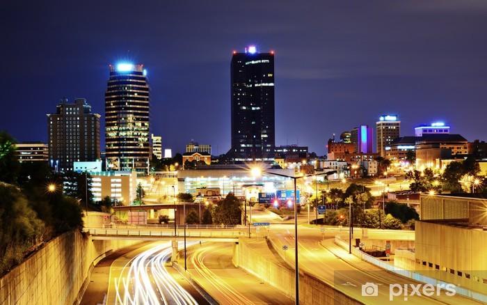 Pixerstick Aufkleber Downtown Knoxville, Tennessee Stadtbild - Amerika