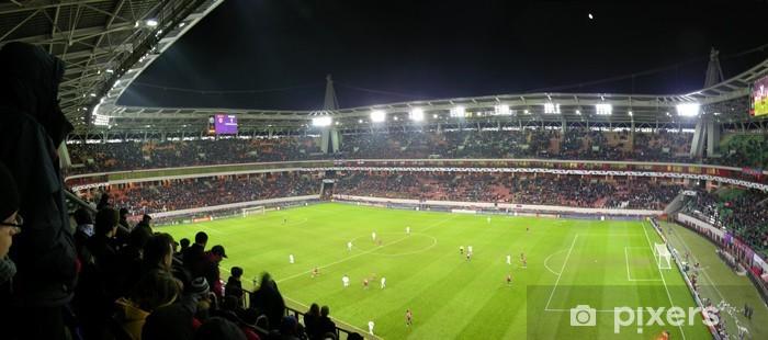 panorama of football stadium Vinyl Wall Mural - Team Sports