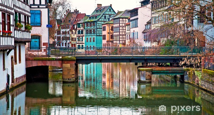 Old town of strasbourg france wall mural pixers we live to change - Bureau change strasbourg ...