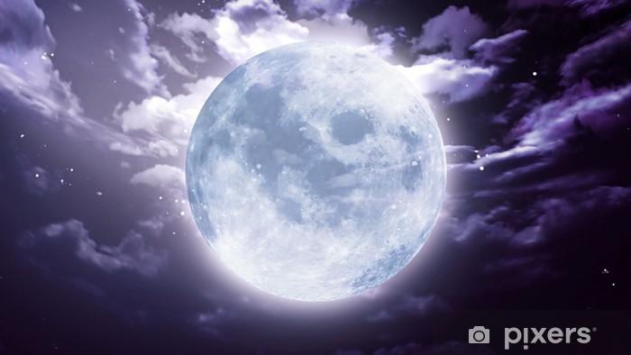 Fototapeta winylowa Duży księżyc Halloween - Tematy