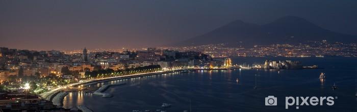 Fototapeta winylowa Zatoka Neapolitańska i noc - Wakacje