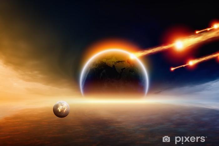 Nálepka Pixerstick Vliv - Meziplanetární prostor