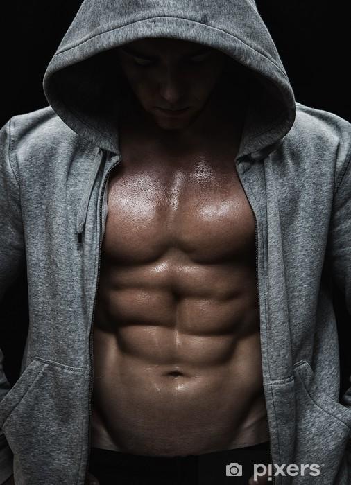 Fototapeta winylowa Zamknij się z mięśni człowieka ciężarów po treningu sportowego - Przeznaczenia