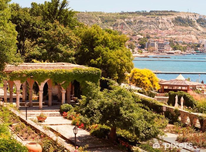 Nálepka Pixerstick Římské lázně v zahradě Balčik zámku - Evropa