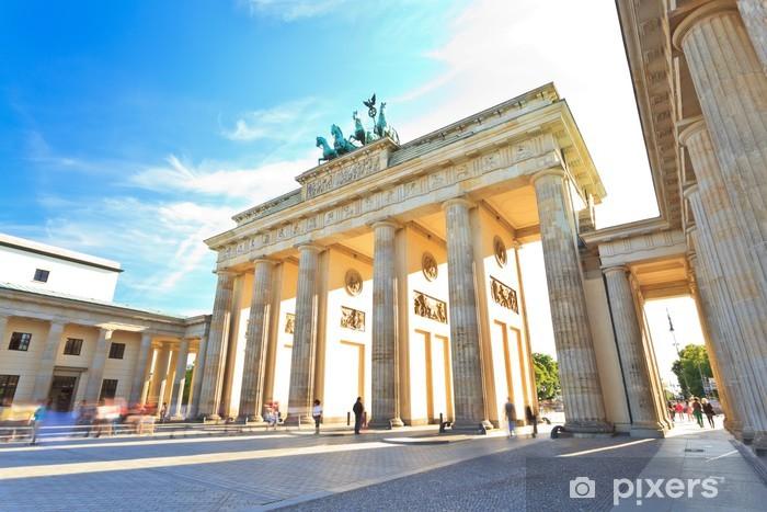 Fotomural Estándar Puerta de Brandenburgo en Berlín, Alemania - Alemania