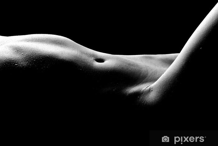 Fototapeta winylowa Nagie zdjęcia bodyscape z kobietą - Tematy