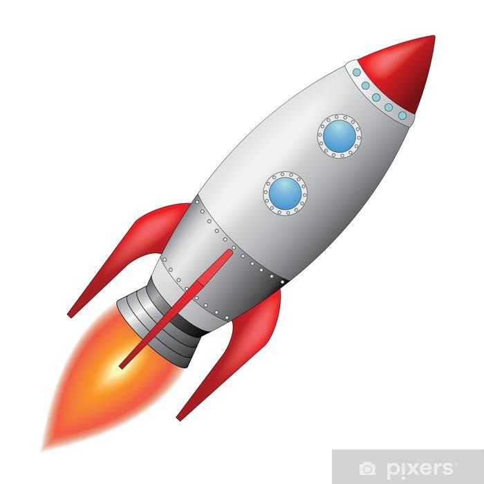 Výsledek obrázku pro vesmírná raketa obrázek