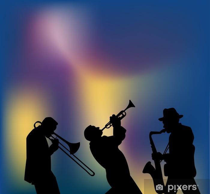 Vinyl Fotobehang Jazz gig - jazz