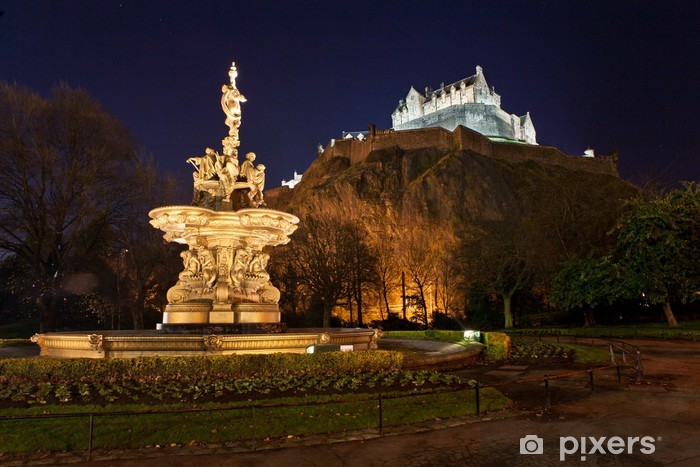 Fototapeta samoprzylepna Zamek w nocy - Tematy