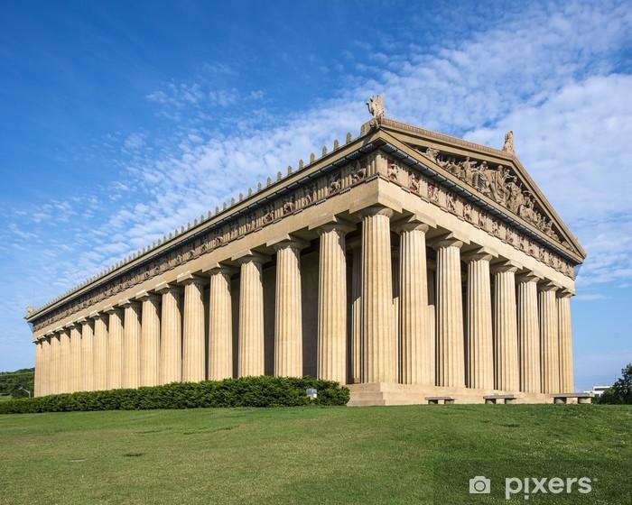 Fotomural Estándar Parthenon Replica en el Parque Centenario, en Nashville, Tennessee - Temas