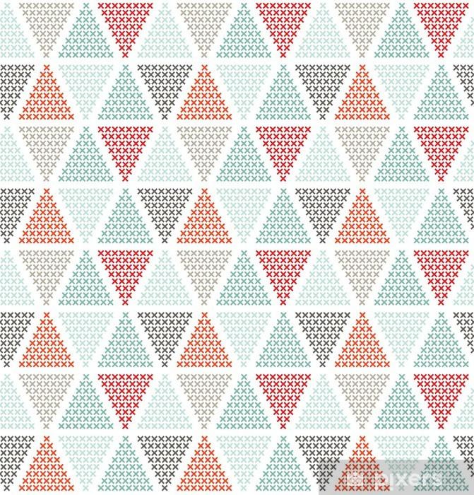 Papier peint vinyle Motif géométrique parfaite, peut être utilisé comme arrière-plan - Styles