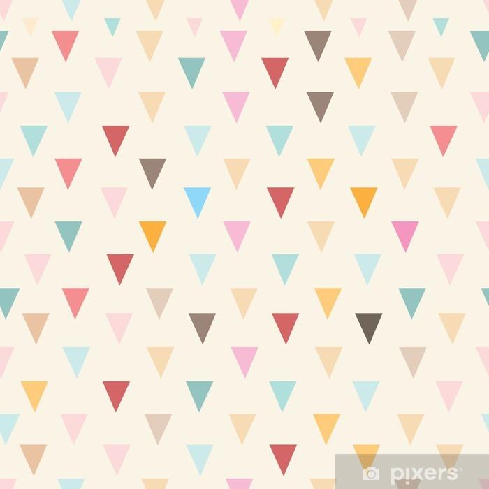 Carta da Parati in Vinile Triangoli texture astratta - Stili