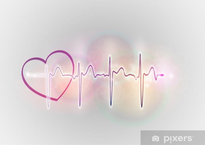Papier peint vinyle Coeur - Santé et médecine