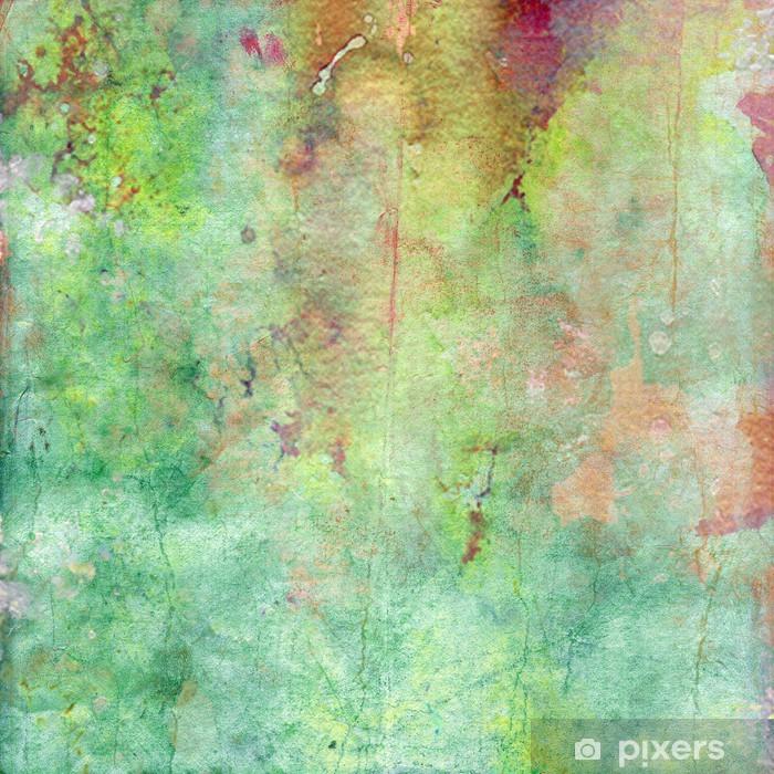 Naklejka Pixerstick Woda kolor stary papier tekstury, rocznika tle - Tematy