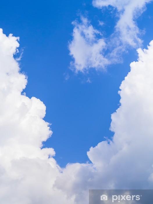 Vinil Duvar Resmi Mavi gök - Gökyüzü