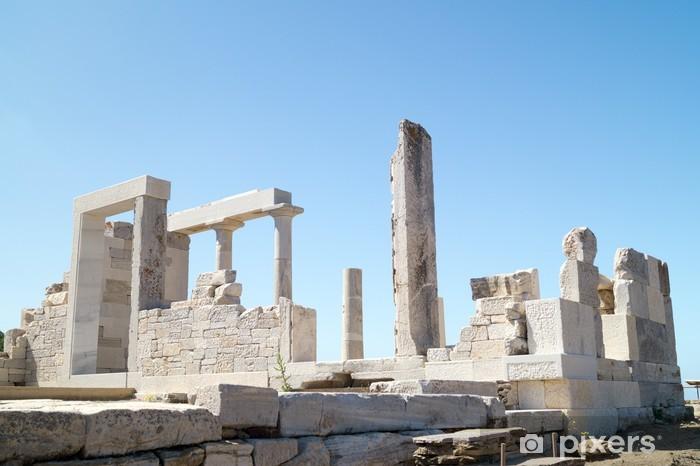 Fototapeta winylowa Świątynia Demeter, Naxos Island, Grecja - Europa