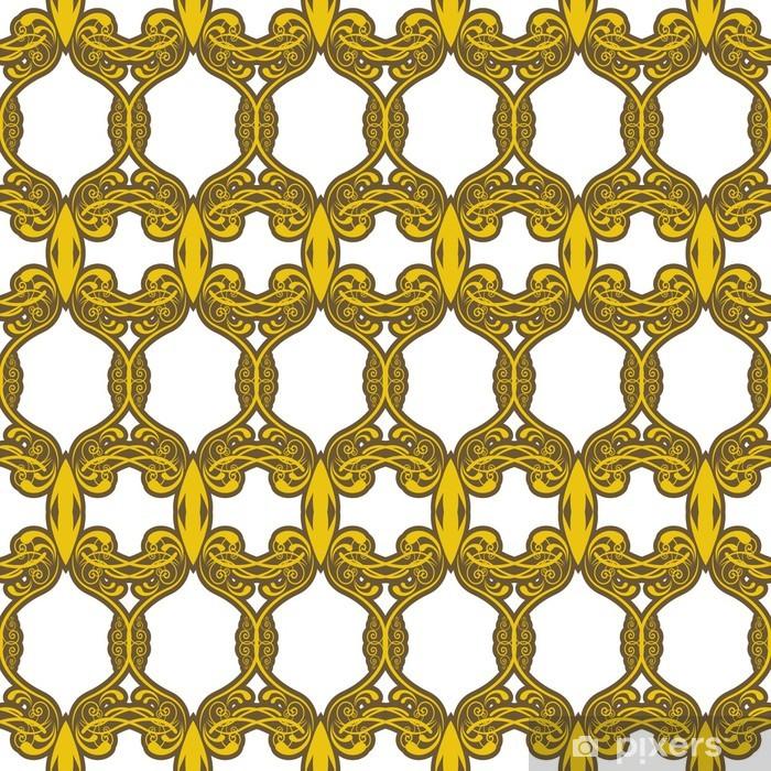 Vinyl-Fototapete Seamless pattern background - Hintergründe