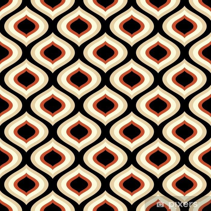 Vinyl Fotobehang Abstracte naadloze patroon - Achtergrond