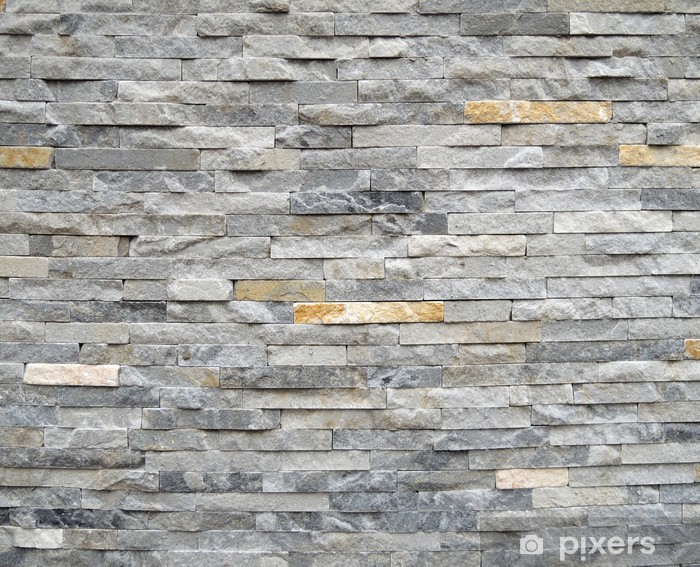 Papier peint vinyle Mur de pierre texture de fond - Styles