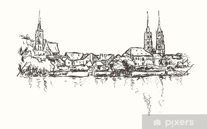 Papier peint vinyle Breslau-Wroclaw - Thèmes