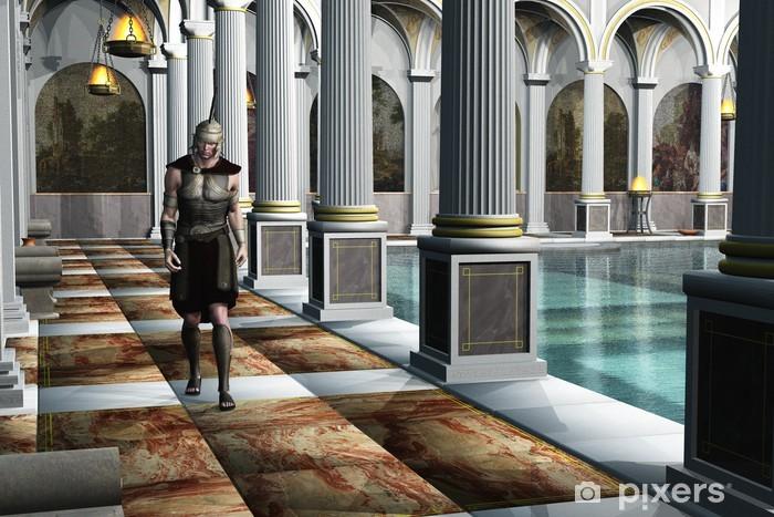 Bagno Di Casa Foto : Carta da parati soldato romano nel bagno di casa u pixers
