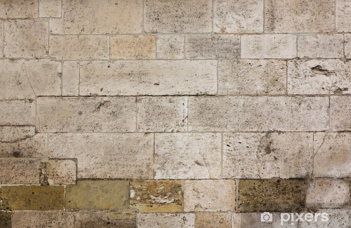 texture of the old stone wall sticker • pixers® • we live to change