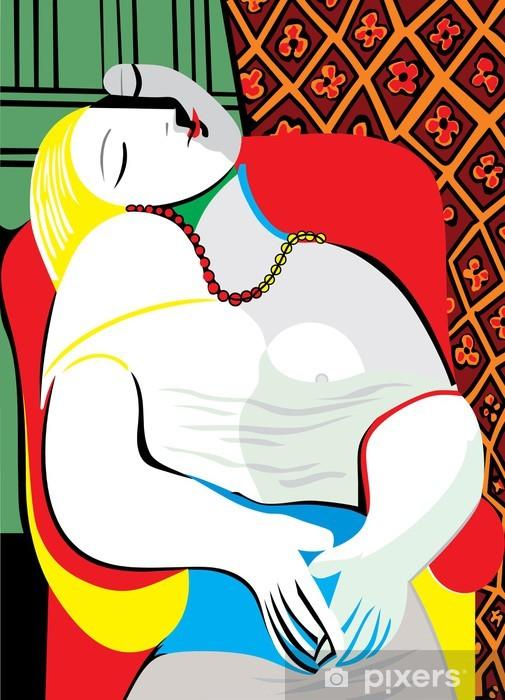 Vinyl Fotobehang The Dream Pablo Picasso - Kantoor