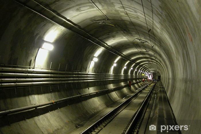 lrt tunnel Vinyl Wall Mural - Themes