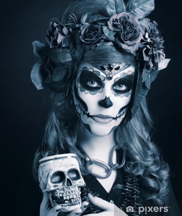 Fotomural Estándar Santa Muerte. - Entretenimiento