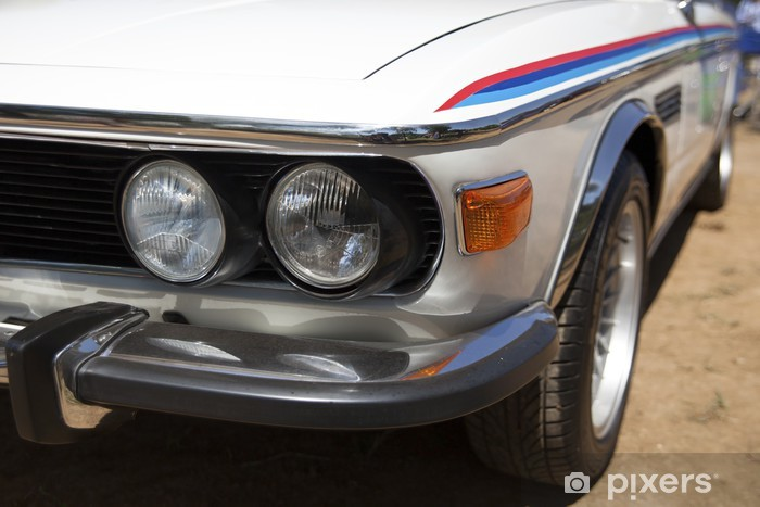 Vinil Duvar Resmi Klasik Bmw - BMW