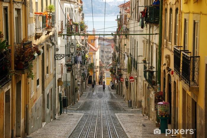 Fototapeta winylowa Lizbona - Bica - Przeznaczenia