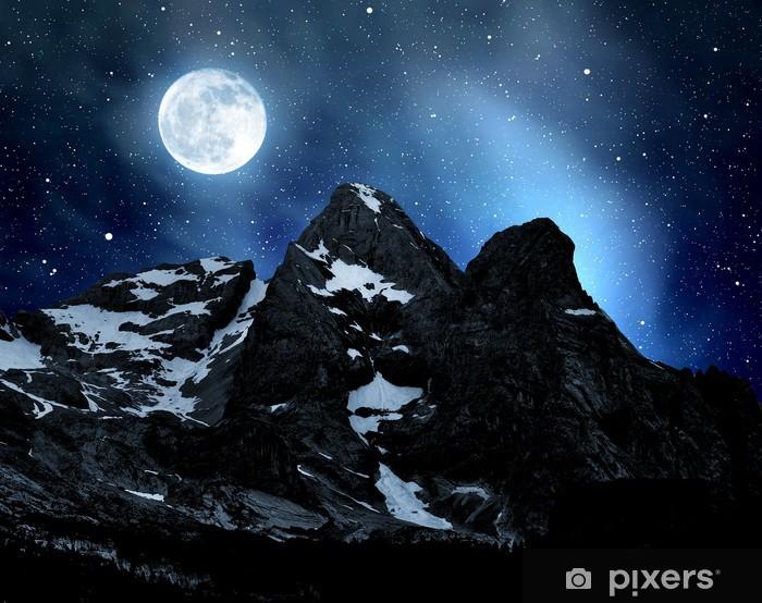 Vinyl Fotobehang Marmolada piek, Val di Fassa - Italië Alpen - Europa