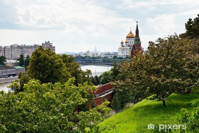 Vinylová fototapeta Pohled z Moskvy z Kremlu - Vinylová fototapeta