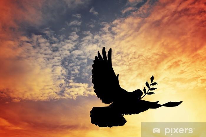 Fototapeta winylowa Dove pokoju - Święta międzynarodowe