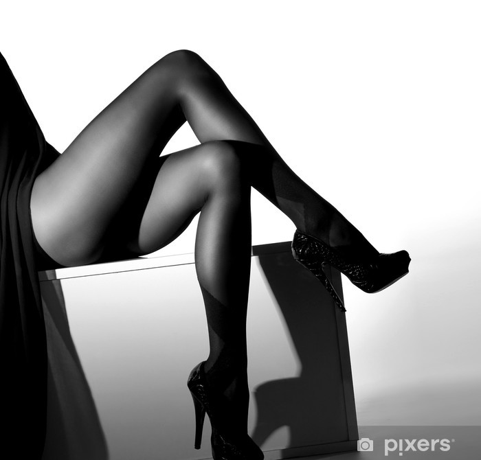 Sexy bilde av svarte kvinner