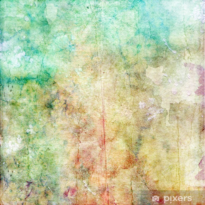 water color old paper texture, vintage background Wall Mural - Vinyl