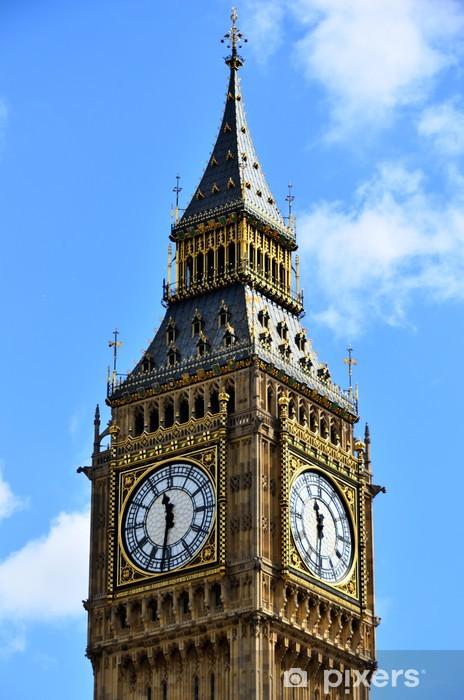 Naklejka Pixerstick Big Ben - Miasta europejskie