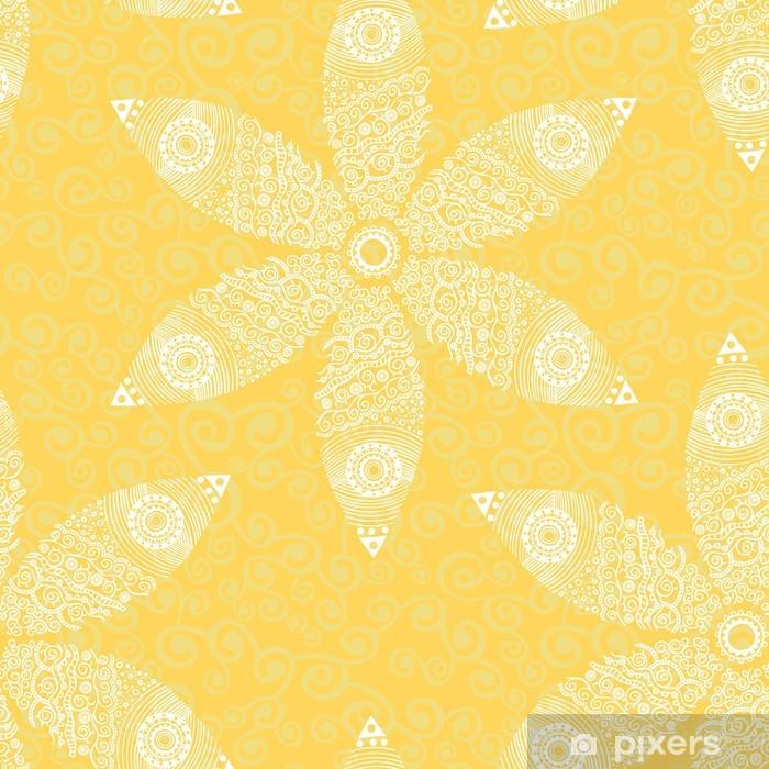 Poster Floral seamless pattern - Hintergründe
