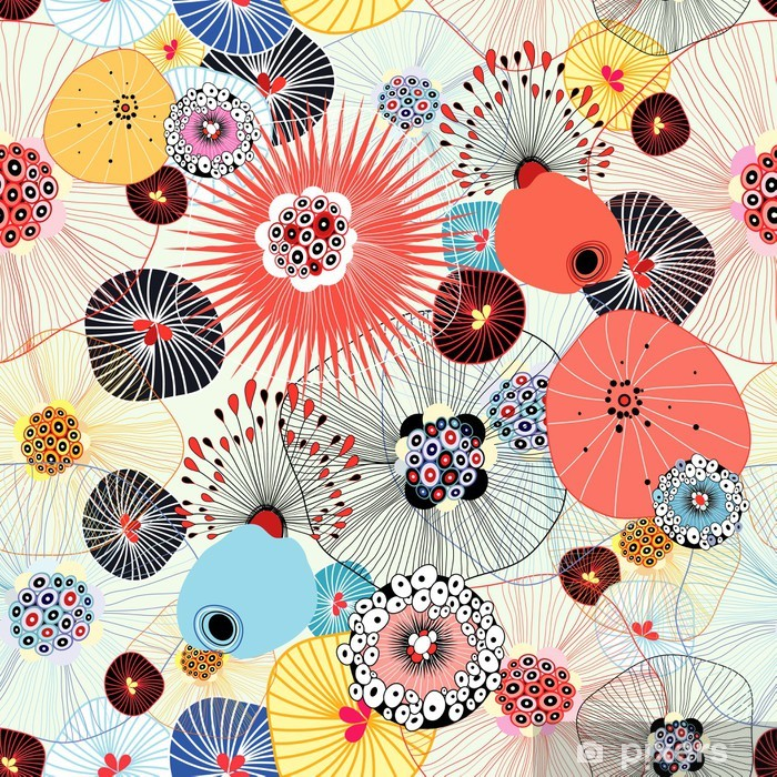 Poster en cadre Abstrait texture - Styles