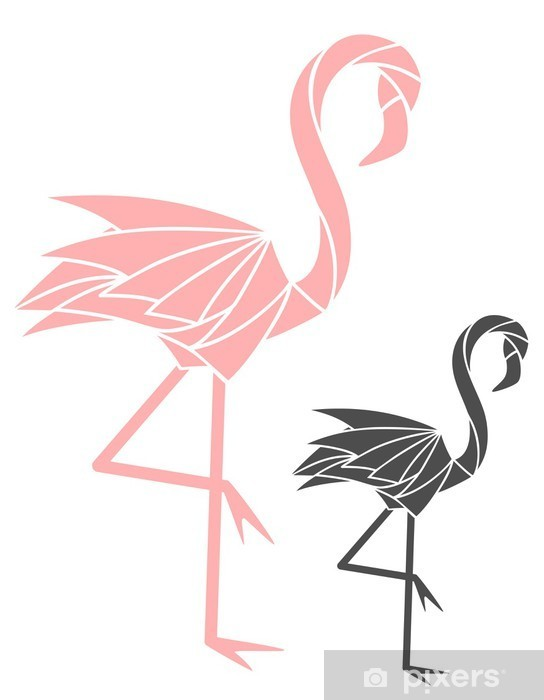 Naklejka Pixerstick Flaming - Nauka i natura