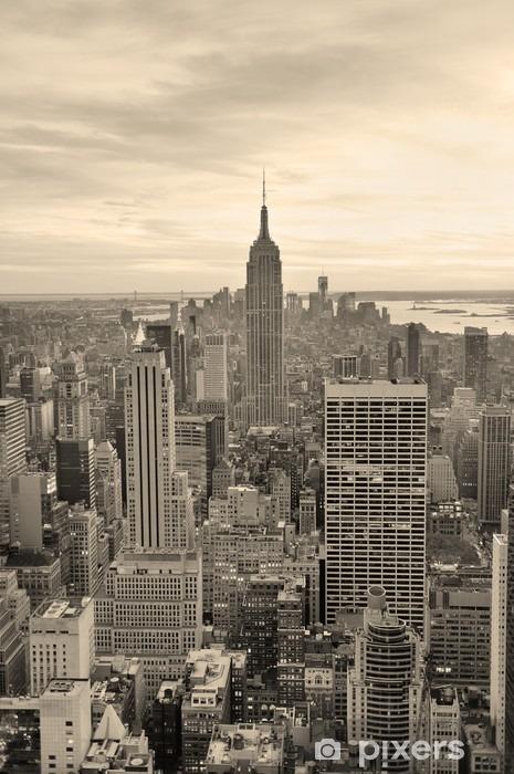 Empire State Building Pixerstick Sticker - Styles