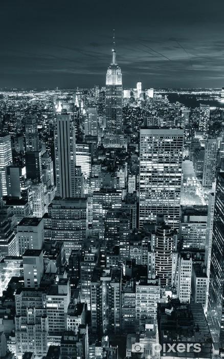 Vinilo para Nevera Empire State Building de cerca -