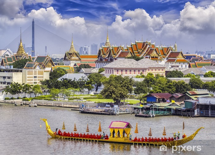 Landscape of Thai's king palace Vinyl Wall Mural - Asia