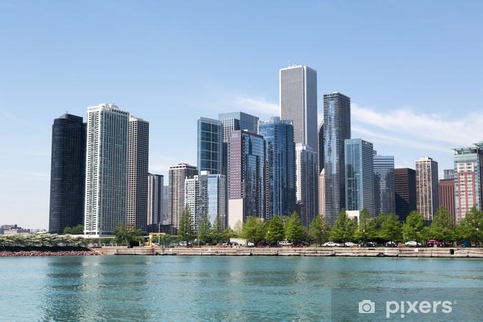 Chicago Skyline Vinyl Wall Mural America