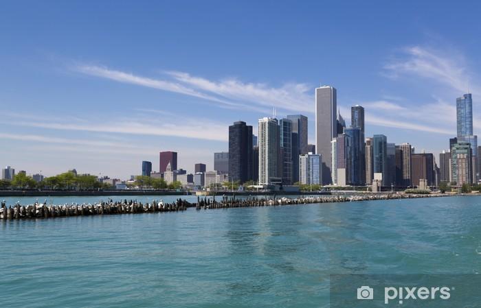 Fototapeta winylowa Chicago Skyline - Ameryka