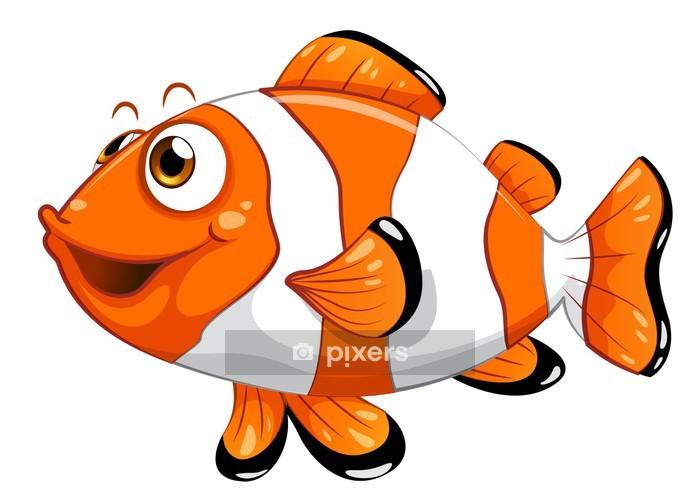 Sticker mural Un poisson nemo - Sticker mural