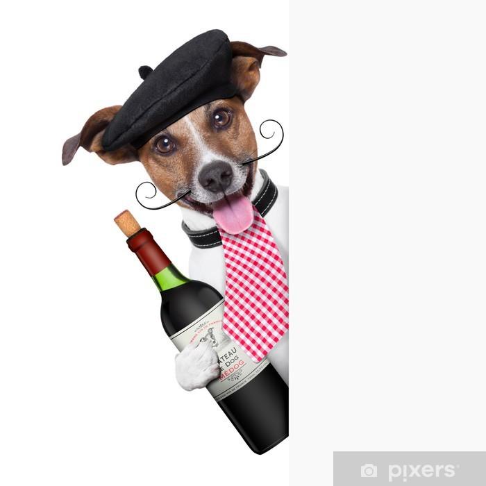Poster Französisch Hund - Gerichte