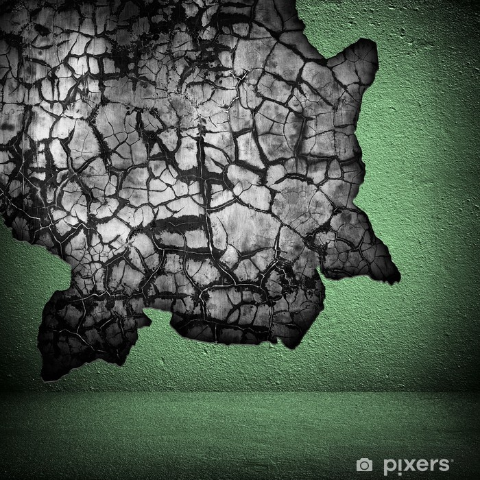cracked wall Poster - Life